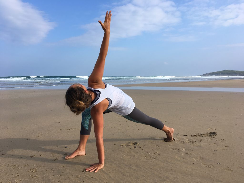 Simple Morning Yoga Routine - Shine Yoga